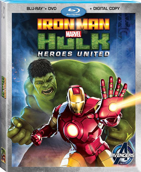 دانلود انیمیشن Iron Man and Hulk: Heroes United 2013