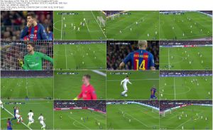 Barcelona vs. Paris Saint-Germain UCL 2017