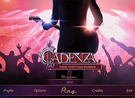 دانلود بازی فکری Cadenza 4: Fame, Theft and Murder Collector's Edition