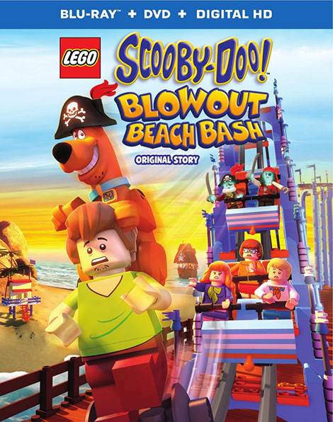 دانلود انیمیشن LEGO Scooby-Doo! Blowout Beach Bash 2017
