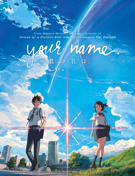 Image result for ‪Your Name 2016 انیمه‬‏