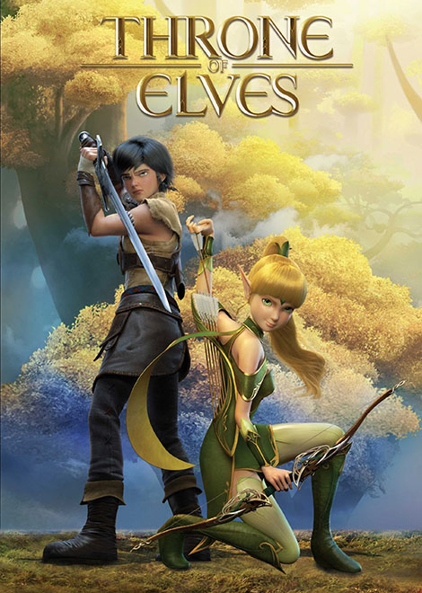 Image result for ‪Throne of Elves انیمیشن‬‏