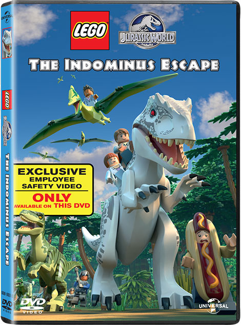 دانلود انیمیشن LEGO Jurassic World The Indominus Escape 2016