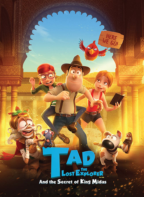 دانلود انیمیشن Tad the Lost Explorer and the Secret of King Midas 2017, دوبله فارسی انیمیشن Tad Jones 2: The Hero Returns 2017