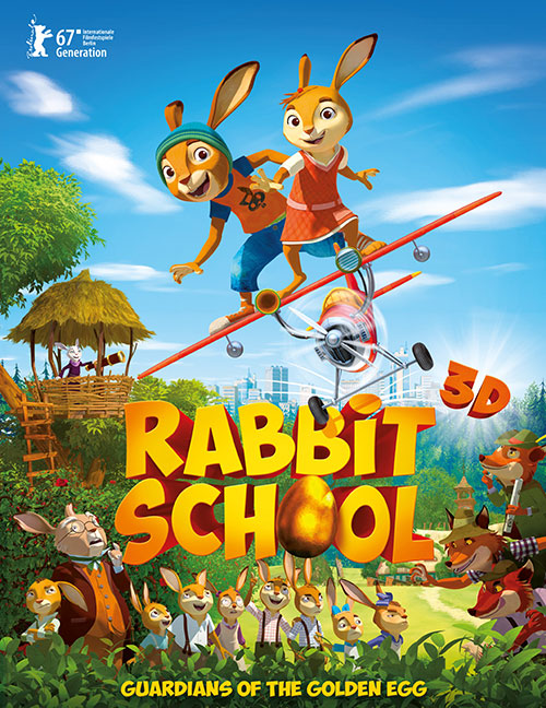 دانلود انیمیشن Rabbit School - Guardians of the Golden Egg 2017