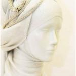 model shal2 10 150x150 - مدلهای بستن شال و روسری مجلسی زنانه