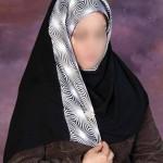 model shal2 9 150x150 - مدلهای بستن شال و روسری مجلسی زنانه
