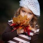 عکس های زیبای کودکان و پاییز