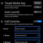 کنترل موزیک با دست توسط Wave Control Pro