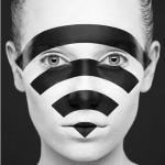 نقاشی های سه بعدی روی صورت