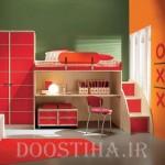 طراحی جدید و زیبای دکوراسیون اتاق کودک