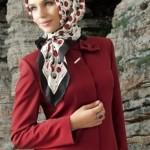 مدل های مدرن و ساده بستن روسری و سبک جدید بستن شال