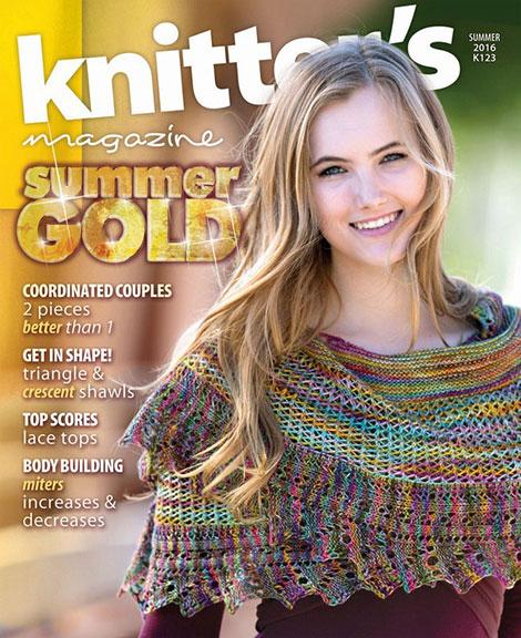دانلود رایگان مجله بافتنی Knitter Magazine