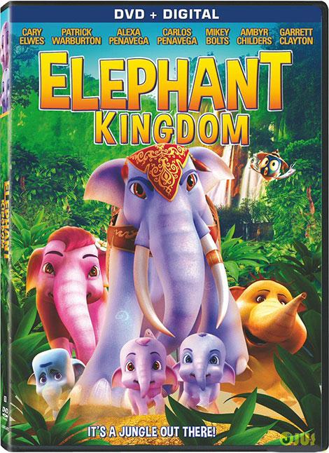 دانلود انیمیشن قلمرو فیل ها با دوبله فارسی Elephant Kingdom 2016