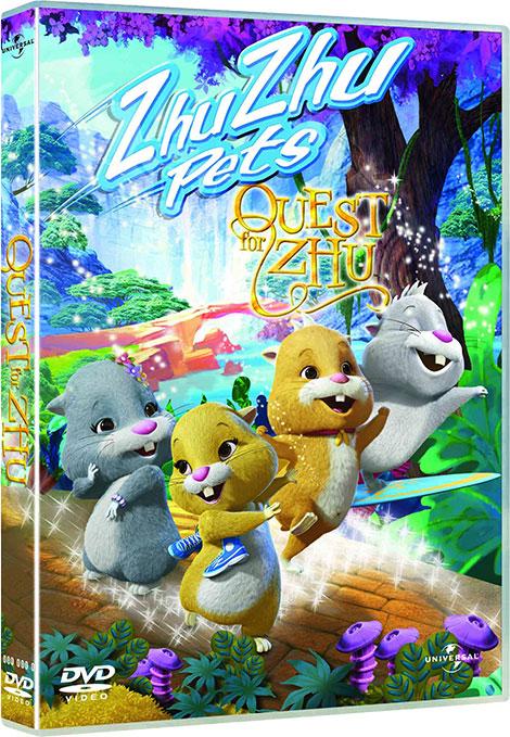 دانلود دوبله فارسی انیمیشن تلاش برای ژو Quest for Zhu 2011 BluRay