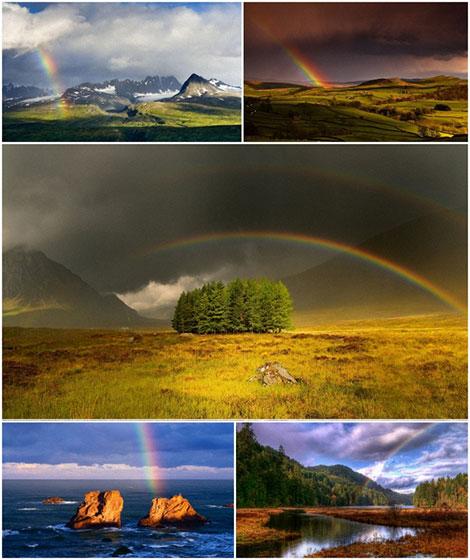 دانلود والپیپر رنگین کمان Rainbow Wallpapers