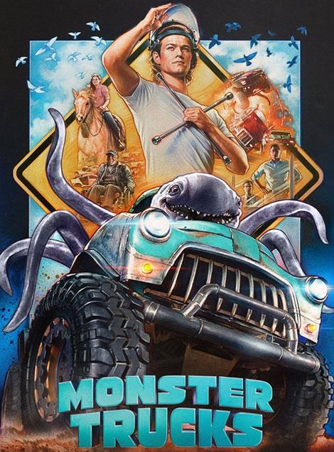 دانلود انیمیشن Monster Trucks 2016