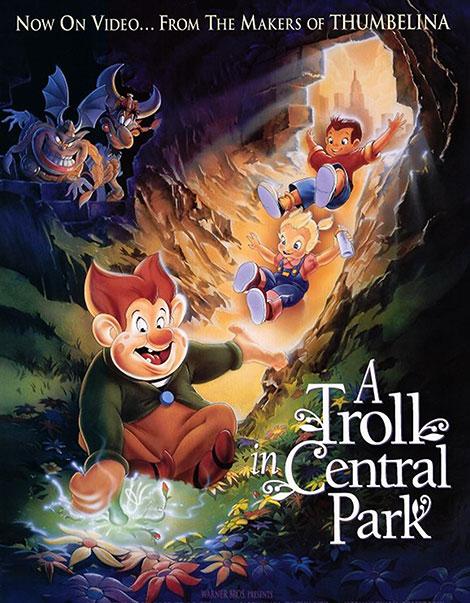 دانلود انیمیشن A Troll in Central Park 1994