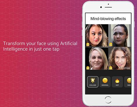 دانلود اپلیکیشن تغییر چهره فیس اپ FaceApp PRO