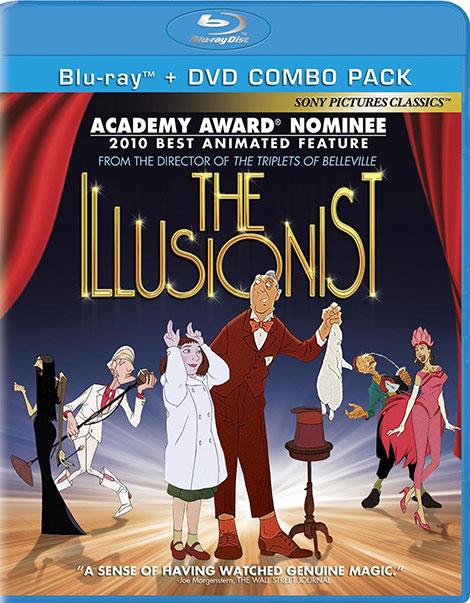 دانلود دوبله فارسی انیمیشن شعبده باز Illusionist 2010