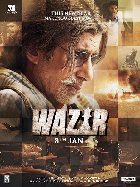 دانلود فیلم وزیر با دوبله فارسی Wazir 2016