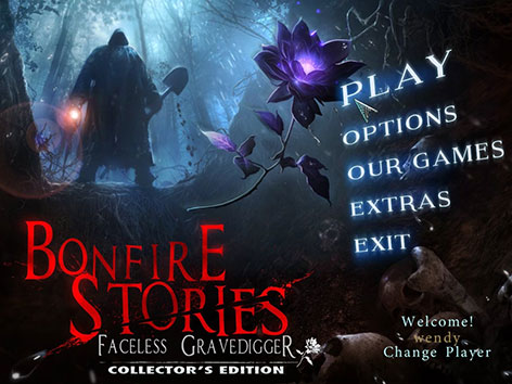 دانلود بازی Bonfire Stories: Faceless Gravedigger Collector's Edition