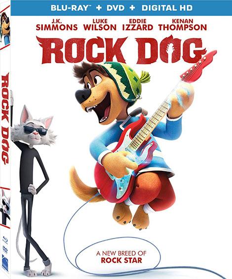دانلود دوبله فارسی انیمیشن سگ آوازخوان Rock Dog 2016