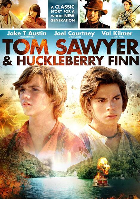 دانلود دوبله فارسی فیلم Tom Sawyer & Huckleberry Finn 2014