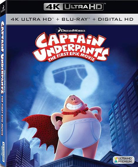 دوبله فارسی انیمیشن کاپیتان زیرشلواری Captain Underpants: The First Epic 2017