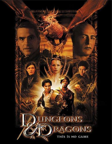 دانلود دوبله فارسی فیلم سرزمین اژدها Dungeons and Dragons 2000