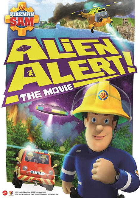 دانلود دوبله فارسی انیمیشن سام آتشنشان: هشدار بیگانه Fireman Sam: Alien Alert! 2016