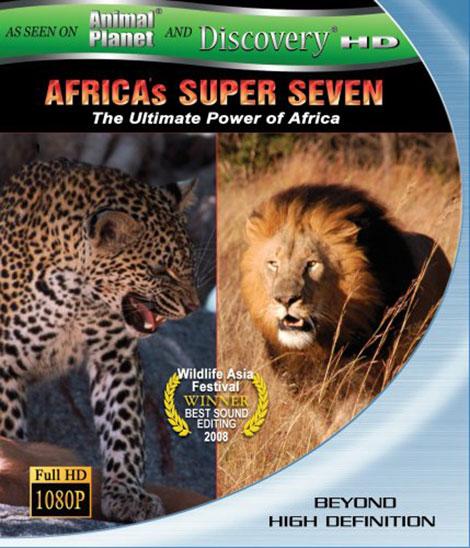 دانلود مستند هفت حیوان برتر آفریقا Africa's Super Seven 2008