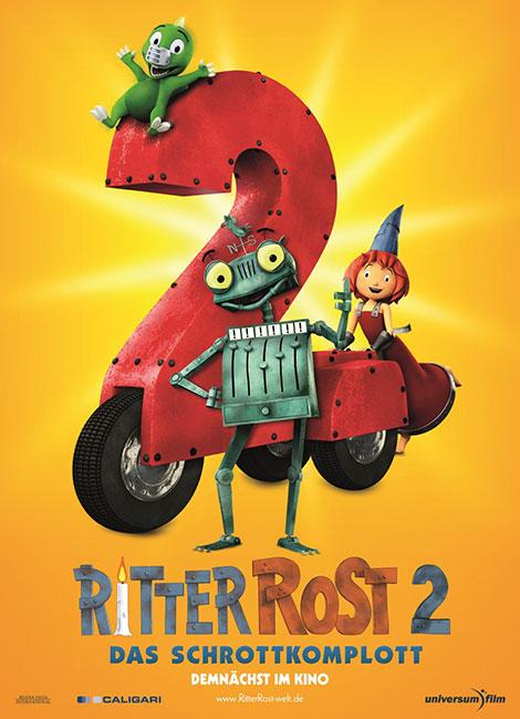 دانلود انیمیشن Ritter Rost 2: Das Schrottkomplott 2017