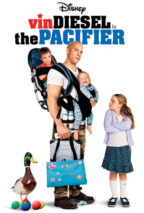 دانلود دوبله فارسی فیلم وقتی گروهبان پرستار بچه می شود The Pacifier 2005