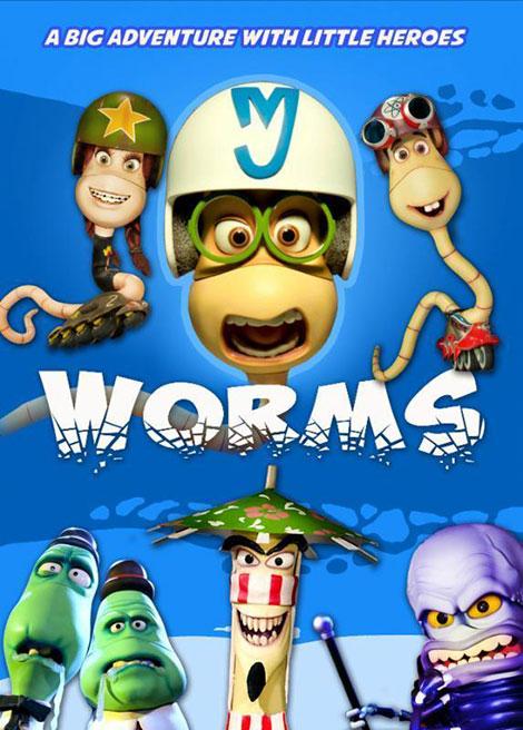 دانلود دوبله فارسی انیمیشن عصر کرم بندان Worms 2013 Animation
