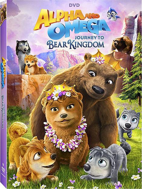 دانلود انیمیشن آلفا و امگا Alpha and Omega Journey to Bear Kingdom 2017
