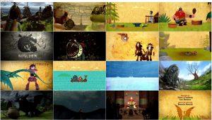 دانلود دوبله فارسی انیمیشن کتاب اژدها Book of Dragons 2011