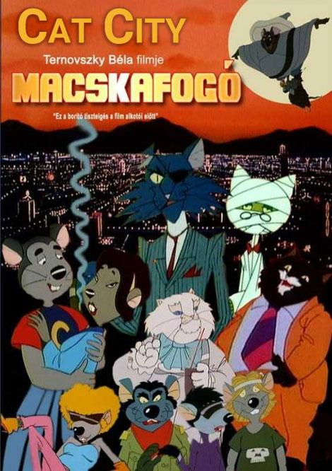 دانلود دوبله فارسی انیمیشن شهر گربه ها Cat City 1986