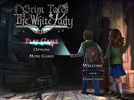 دانلود بازی Grim Tales 13 The White Lady Collector's Edition