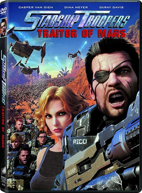 دانلود دوبله فارسی انیمیشن Starship Troopers Traitor of Mars 2017