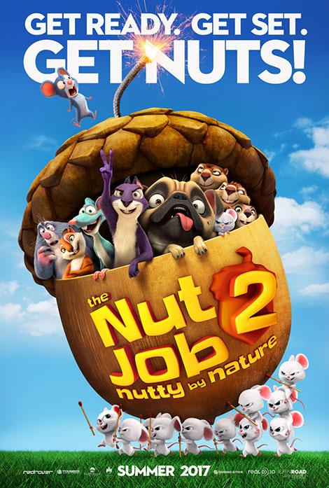 دانلود انیمیشن عملیات آجیلی 2: آجیلی اصل The Nut Job 2 Nutty by Nature 2017