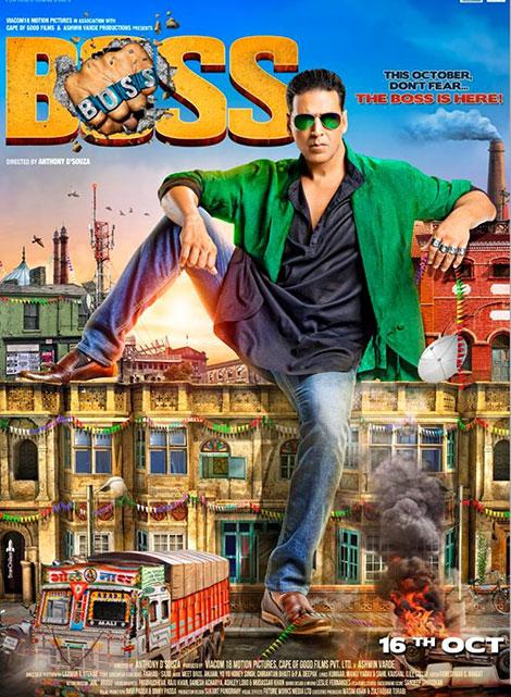 دانلود دوبله فارسی فیلم هندی من رئیس هستم Boss 2013, فیلم من رئیس هستم Boss 2013 دوبله فارسی, دوبله فارسی فیلم Boss 2013 720p DVDRip, فیلم من رئیس هستم 2013