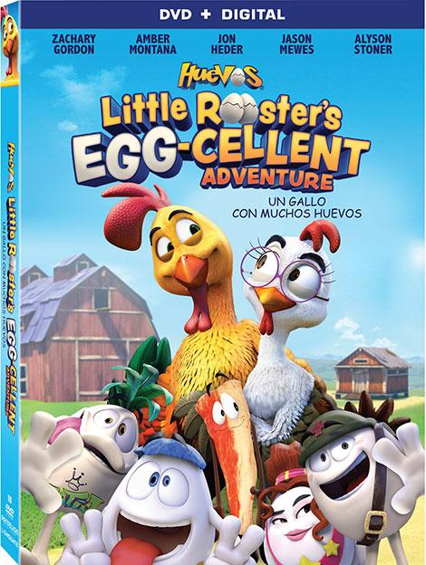دانلود دوبله فارسی انیمیشن Huevos: Little Rooster's Egg-cellent Adventure 2015