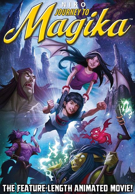 دانلود دوبله فارسی انیمیشن نیکو سفر به سرزمین جادویی Niko: Journey to Magika 2014