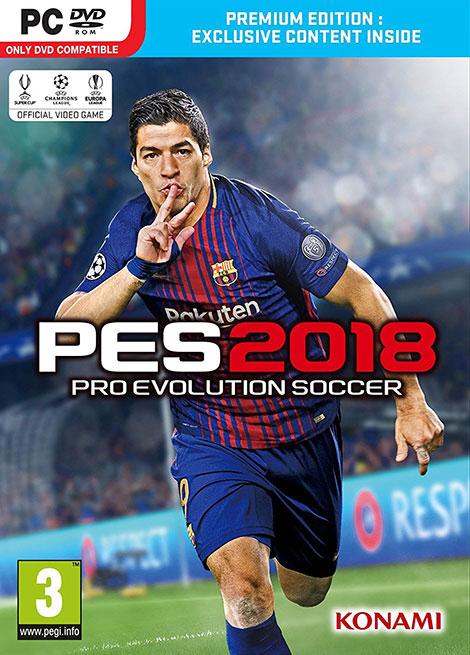 دانلود رایگان نسخه نهایی بازی پرو ساکر Pro Evolution Soccer 2018-CPY, دانلود نسخه سالم بازی PES 2018, دانلود کرک بازی PES 2018, دانلود PES 2018 با کرک CPY