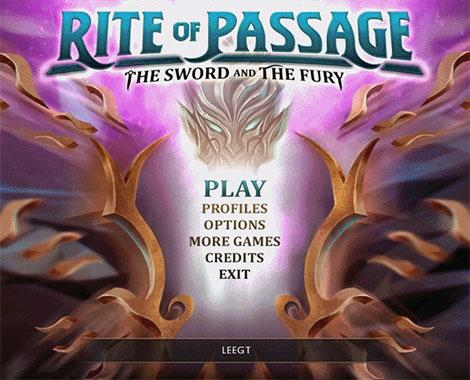دانلود بازی Rite of Passage 7: The Sword and the Fury Collector's Edition, دانلود بازی Rite of Passage 7 The Sword and the Fury, بازی Rite of Passage 7