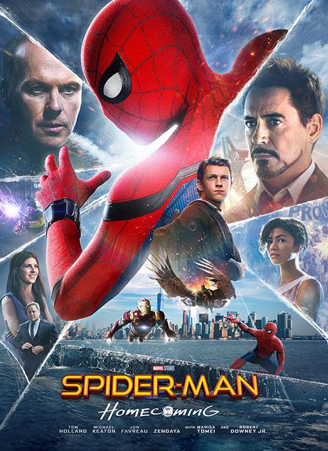 دانلود فیلم مرد عنکبوتی : بازگشت به خانه Spider-Man: Homecoming 2017