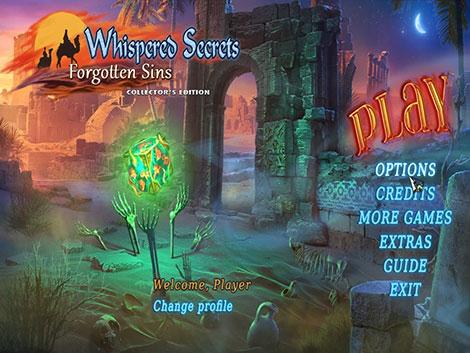 دانلود بازی Whispered Secrets 7: Forgotten Sins Collector's Edition