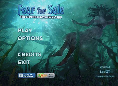 دانلود بازی Fear For Sale 11: The Curse of Whitefall Collector's Edition