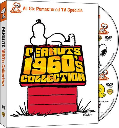 دانلود کالکشن انیمیشن بادام زمینی ها Peanuts 1960's Collection